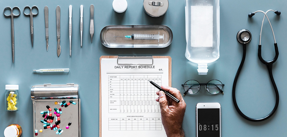 Medical visit in Barcelona