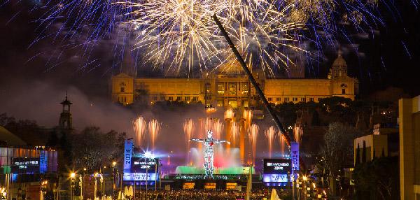fireworks barcelona